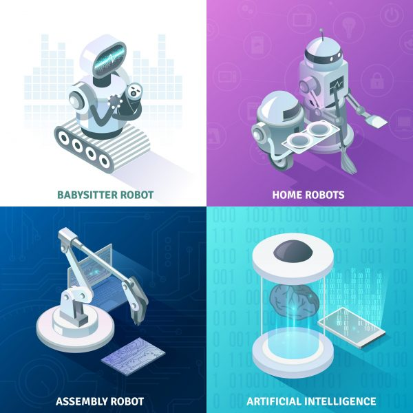 Service Robots Artificial intelligence, service robots